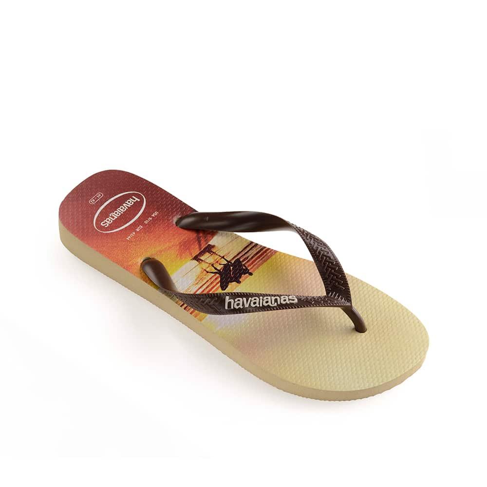 Havaianas Hype Sand Grey/Dark Brown