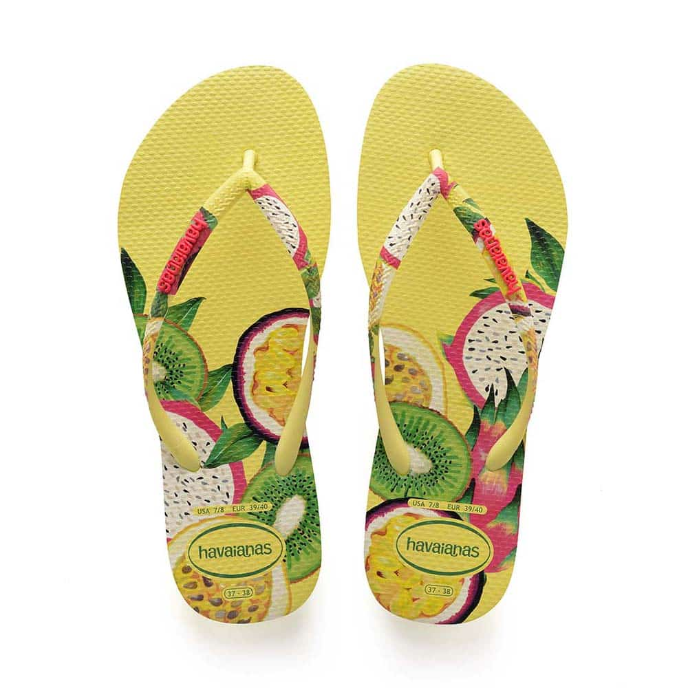 Havaianas Slim Sensation Pollen Yellow