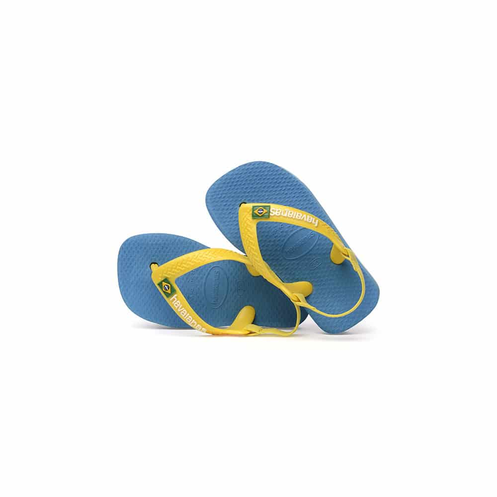 Havaianas Baby Brasil Logo II Turquoise