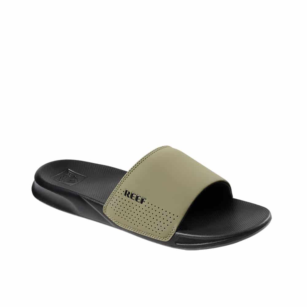 Reef One Slide Black/Olive